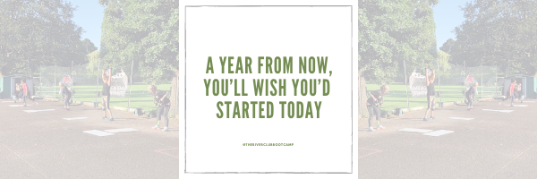 """Quote reads """"a year from now, you'll wish you'd started today."""""""